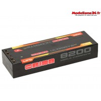 Batterie Ultimate graphène HV 2s lipo 8200-120C-7.6V-(322g) - ORI14505