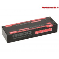 Batterie Ultimate graphène 2s lipo 6800-120C-7.4V-(297g) - ORI14515