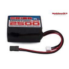 Batterie RX Marathon lipo 2500 - 7.4v Team Orion - ORI12259
