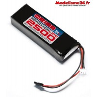 Batterie RX Marathon lipo 2500 - 7.4v Team Orion - ORI12260