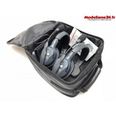 Casques UltraLITE 2 person system (w/2 SINGLE HEADSETS, BATT/CHARG) : ET-UL2SEU