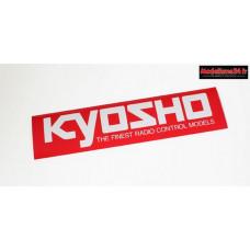 Kyosho Autocollant logo L (360x90mm) : 87004