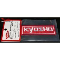 Ecusson Kyosho à broder 36x102 : 87012