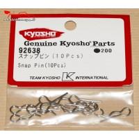 Clips de carrosserie Kyosho 1/10 (10) - K.92638