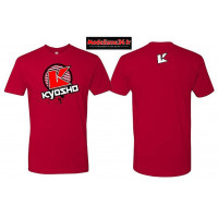 Kyosho T-shirt K-circle rouge - L :  88008L