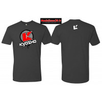 Kyosho T-shirt K-circle gris - XL : 88009XL