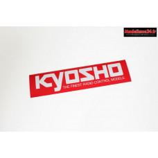 Kyosho Autocollant logo M (290x72mm) : 87003