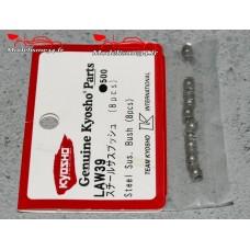 Kyosho Bagues de suspension acier ZX5-ZX7 (8) : LAW39