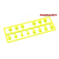 Kyosho Bagues de suspension jaunes MP10 : IF616KY
