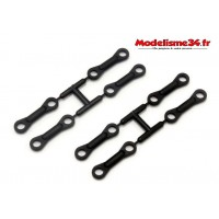 Kyosho fixations de barre anti roulis MP10 : IF620