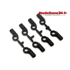 Kyosho Chapes 6,8mm avec déport (8)  inferno MP10 : IS053B