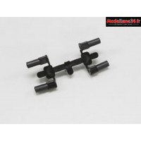 Kyosho Bagues d'étriers avant inferno MP9 - IF421-01