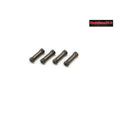Kyosho Plots de platine aluminium MP9- MP10 (4) : IFW401B