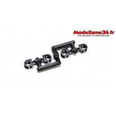 Kyosho Bagues de bouchon big shocks (4)  - IF346-07