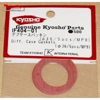 Kyosho  Joints de corps de différentiel central MP9/MP10l (5) - IF404-01