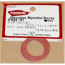 Kyosho  Joints de corps de différentiel central MP9/MP10l (5) - IF404-01