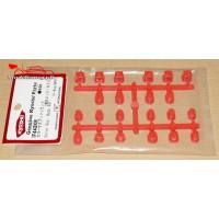Kyosho Bagues de suspension inferno MP9 / rouge - K.IF442KR