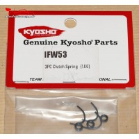 Kyosho  Ressorts d'embrayage 3 points (1.0MM)  - IFW53