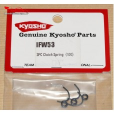 Kyosho  RESSORTS D'EMBRAYAGE 3 POINTS (1.0MM)  - K.IFW53
