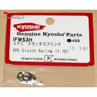 Kyosho  Ressorts d'embrayage 3 points (1.1MM)  -IFW53-H