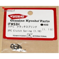 Kyosho  RESSORTS D'EMBRAYAGE 3 POINTS (1.1MM)  -K.IFW53-H