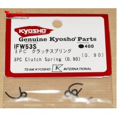 Kyosho Ressorts d'embrayage 3 points  (0.9MM) - K.IFW53-S