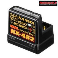 Récepteur Sanwa RX-482 4 voies - 107A41257A