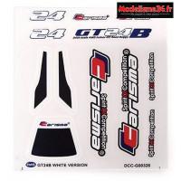 Carisma Stickers pour GT24B CH ou PS edition : CARI15384
