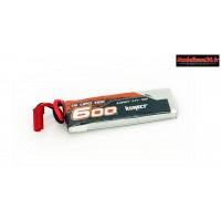 Konect Lipo 600mah 3.7V 15C 1S1P 2.22Wh (spécial GT24 carisma) : KN-LP1S600