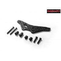 Carisma Kit support amortisseurs arrières carbone GT24B : CARI15425