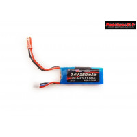 Carisma Batterie LiPo 2S 7.4V 350mah GT24B : CARI15432