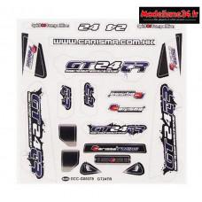 Carisma Stickers GT24TR : CARI15691