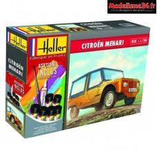 Maquette Citroen Mehari 1/24 - Hell56760