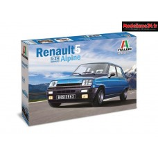 Maquette Renault 5 Alpine 1/24 - Ital3651