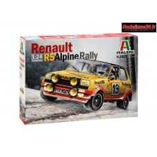 Maquette Renault R5 Alpine Rally 1/24 - Ital3652