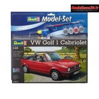 Maquette Vw Golf 1 Cabriolet 1/24 - Reve67071