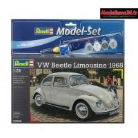 Maquette Vw Coccinelle Limousine 68 1/24 - Reve67083