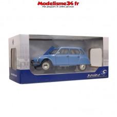 Solido-Citroen Dyane 6 Bleue 1967 1/18 - Soli1800305