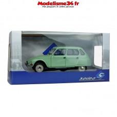 Solido-Citroen Dyane 6 Vert Jade 1967 1/18 - Soli1800302