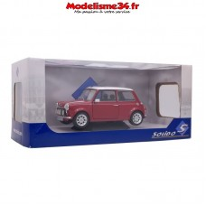 Solido-Mini Cooper Sport Night Fire Red 1997 1/18 - Soli1800603