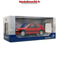 Solido-Peugeot 205 Gti 1.9 Phase 1 1988 Rouge 1/18 - Soli1801702