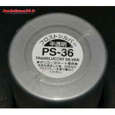 PS-36 Tamiya argent translucide