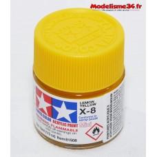 X-8 Tamiya jaune citron brillant