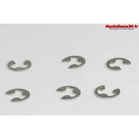 MHD Circlips 2.5mm  (6pcs) - Z6010237