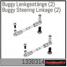 Absima Relevage de direction de buggy (2) : 1330314