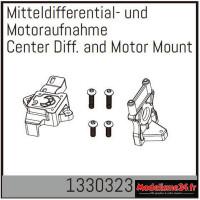 Absima Différentiel central et support moteur : 1330323