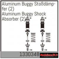 Absima Amortisseur Buggy en aluminium (2) : 1330348
