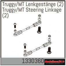 Absima Truggy/MT tringlerie de direction (2) : 1330360