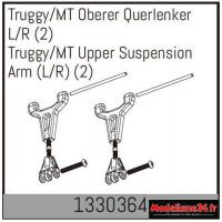 Absima Truggy/MT haut wishbone G/D (2) : 1330364