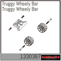 Absima Truggy Wheely Bar : 1330367